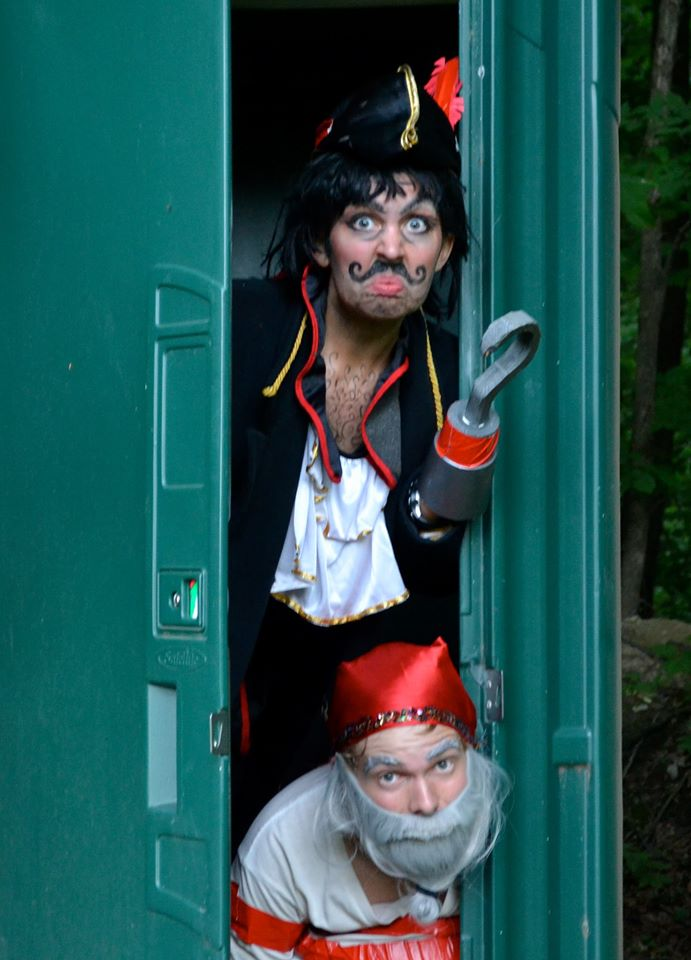 Captain Hook and Mr. Smee were exiled to the outhouse.  sc 1 st  From Alaska to Kosovo - WordPress.com & characters | From Alaska to Kosovo